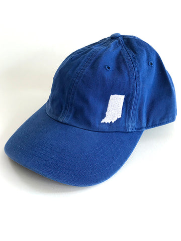 Indiana Dad Cap - United State of Indiana: Indiana-Made T-Shirts and Gifts