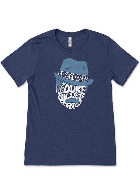 Duke Silver Trio Unisex Tee - United State of Indiana: Indiana-Made T-Shirts and Gifts