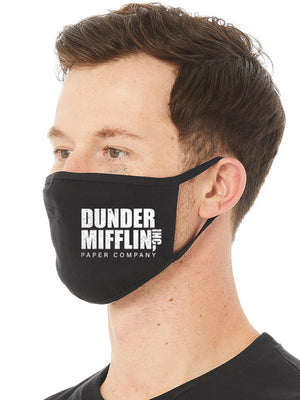 Dunder Mifflin Face Mask
