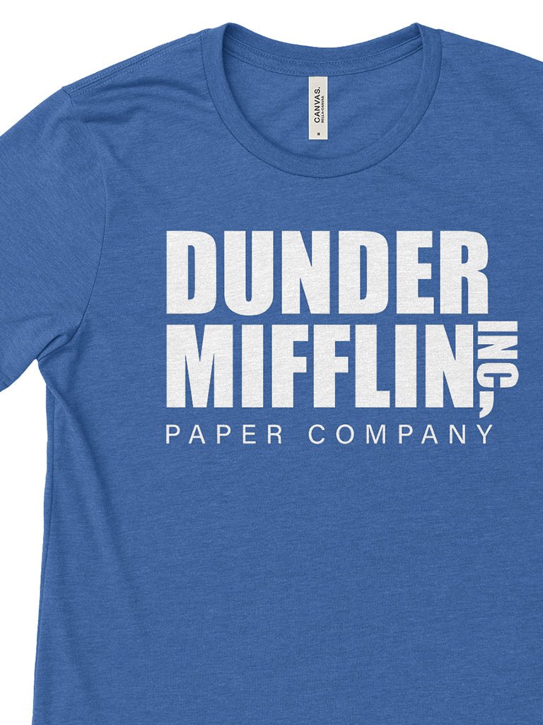 Dunder Mifflin Tee - United State of Indiana: Indiana-Made T-Shirts and Gifts