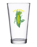 Eat Local Pint Glass