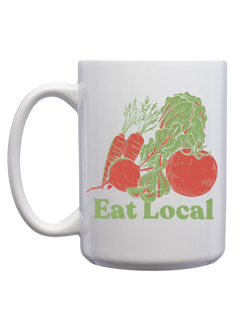 Eat Local Mug - United State of Indiana: Indiana-Made T-Shirts and Gifts
