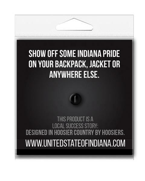 Indiana Sweet Corn Enamel Pin - United State of Indiana: Indiana-Made T-Shirts and Gifts