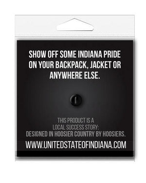 Indianapolis Flag Enamel Pin - United State of Indiana: Indiana-Made T-Shirts and Gifts
