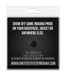 This is Home Enamel Pin - United State of Indiana: Indiana-Made T-Shirts and Gifts