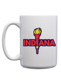 Enlightened Indiana Mug - United State of Indiana: Indiana-Made T-Shirts and Gifts