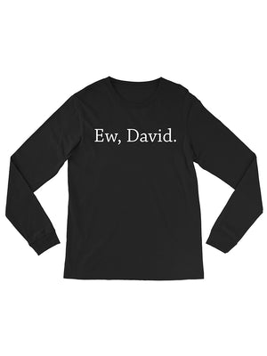 Ew David Long Sleeve Tee
