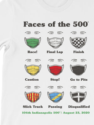 Faces of the 500 Tee