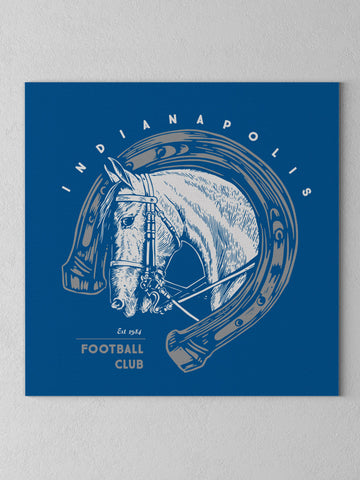 Indianapolis Football Club Canvas - United State of Indiana: Indiana-Made T-Shirts and Gifts