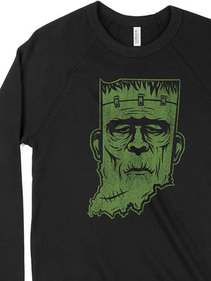 Frankenstate Crewneck Sweatshirt - United State of Indiana: Indiana-Made T-Shirts and Gifts