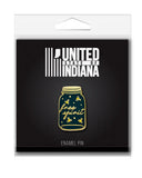 Free Spirit Firefly Enamel Pin - United State of Indiana: Indiana-Made T-Shirts and Gifts