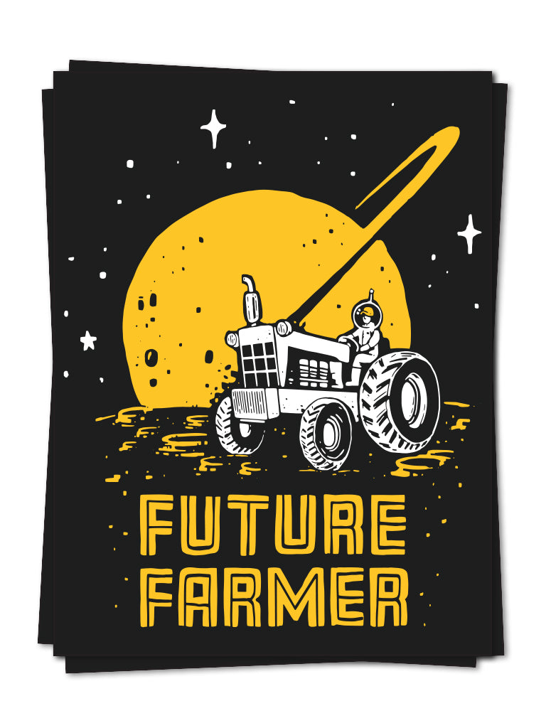Future Farmer Sticker - United State of Indiana: Indiana-Made T-Shirts and Gifts