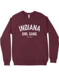 Indiana Girl Gang Crewneck Sweatshirt