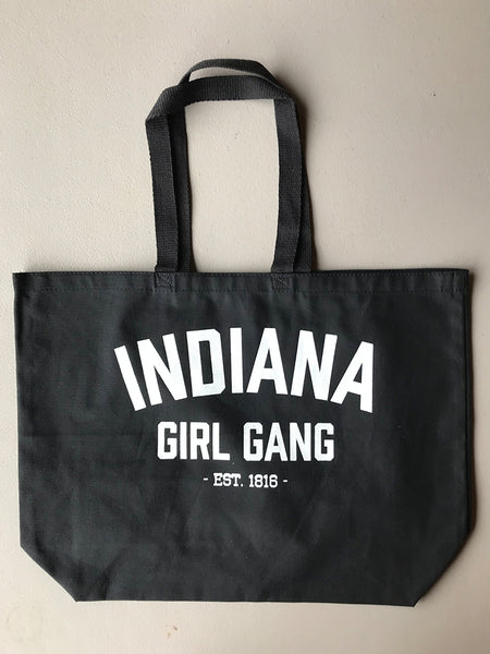 Girl Gang Tote Bag - United State of Indiana: Indiana-Made T-Shirts and Gifts