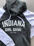 Indiana Girl Gang Women's Hoodie - United State of Indiana: Indiana-Made T-Shirts and Gifts