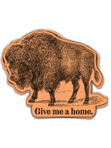 Give Me a Home Sticker - United State of Indiana: Indiana-Made T-Shirts and Gifts