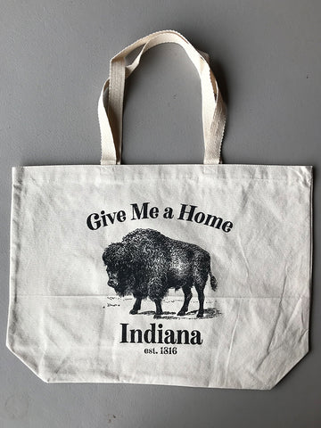 Give Me a Home Tote Bag - United State of Indiana: Indiana-Made T-Shirts and Gifts