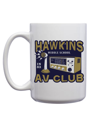 Hawkins A.V. Club Mug - United State of Indiana: Indiana-Made T-Shirts and Gifts