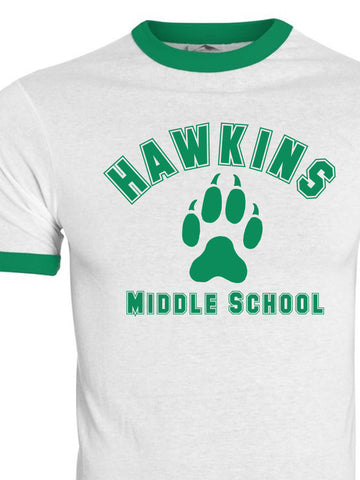 Hawkins Middle School Tee - United State of Indiana: Indiana-Made T-Shirts and Gifts