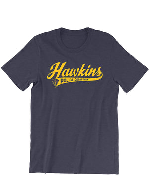 Hawkins Police Dept. Tee - United State of Indiana: Indiana-Made T-Shirts and Gifts