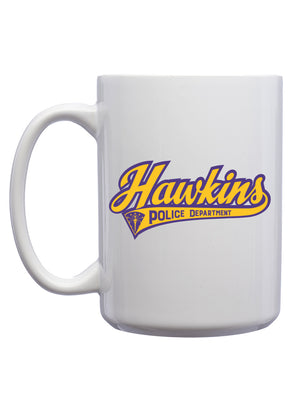 Hawkins Police Department Mug - United State of Indiana: Indiana-Made T-Shirts and Gifts