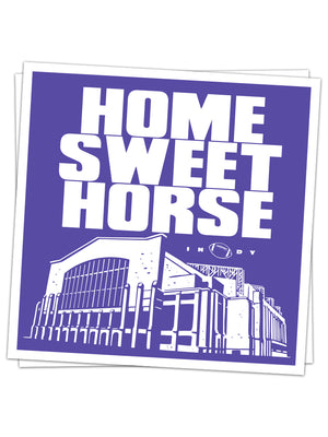Home Sweet Horse Sticker