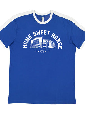 Home Sweet Horse Football Tee