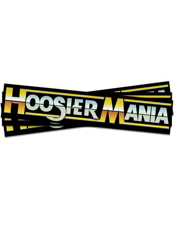 Classic Hoosiermania Sticker - United State of Indiana: Indiana-Made T-Shirts and Gifts
