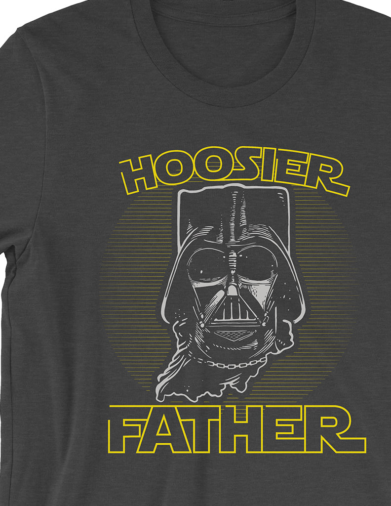 Hoosier Father Tee - United State of Indiana: Indiana-Made T-Shirts and Gifts