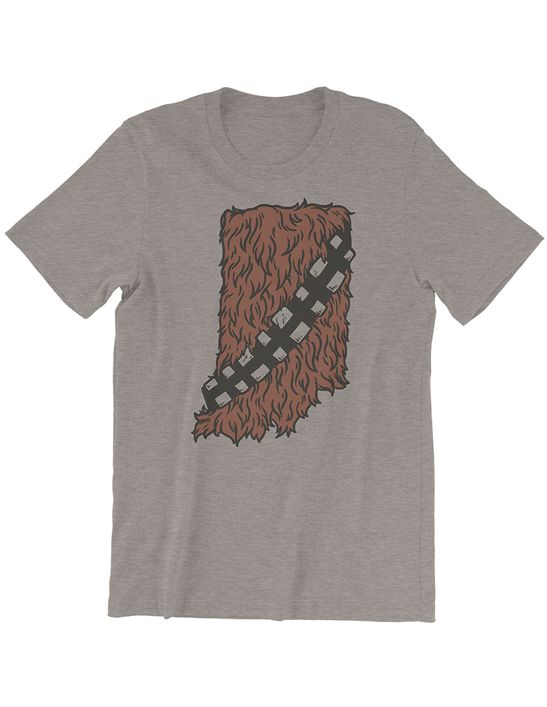 Hoosier Wookie Tee - United State of Indiana: Indiana-Made T-Shirts and Gifts