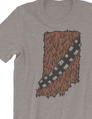 Hoosier Wookiee Tee - United State of Indiana: Indiana-Made T-Shirts and Gifts