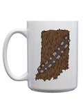 Hoosier Wookiee Mug - United State of Indiana: Indiana-Made T-Shirts and Gifts