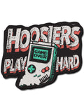 Hoosiers Play Hard Sticker