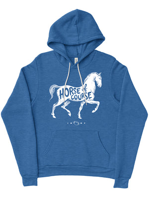 Horse, Of Course Hoodie - United State of Indiana: Indiana-Made T-Shirts and Gifts