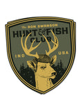 Swanson Hunt and Fish Club Sticker