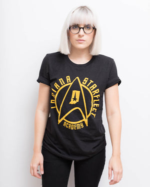 Indiana Starfleet Academy Unisex Tee - United State of Indiana: Indiana-Made T-Shirts and Gifts