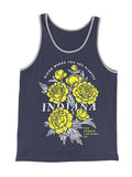 In Bloom Unisex Ringer Tank