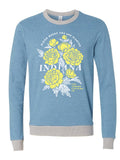 IN Bloom Crewneck Sweatshirt - United State of Indiana: Indiana-Made T-Shirts and Gifts