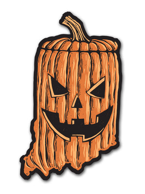 Indiana Jack Sticker
