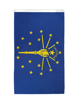 Indiana State Flag (3x5ft)