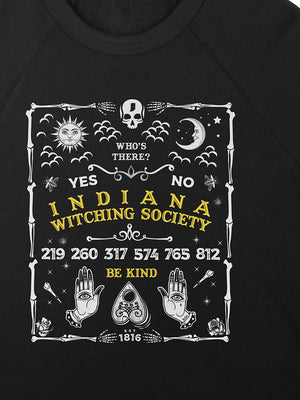 Indiana Witching Society Ouija Crewneck Sweatshirt
