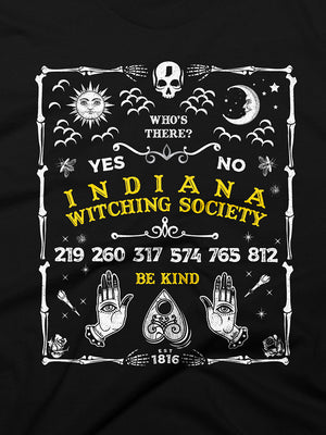 Indiana Witching Society Ouija Tee