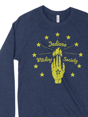 Indiana Witching Society Crewneck Sweatshirt - United State of Indiana: Indiana-Made T-Shirts and Gifts