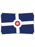 Indy Flag Sticker