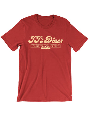 JJ's Diner Tee - United State of Indiana: Indiana-Made T-Shirts and Gifts