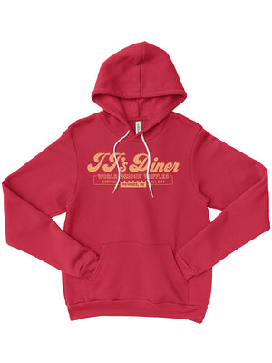 JJ's Diner Hoodie - United State of Indiana: Indiana-Made T-Shirts and Gifts