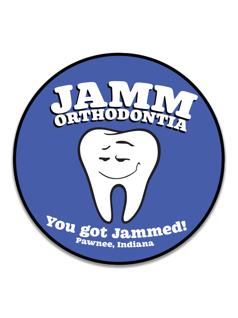 Jamm Orthodontia Sticker - United State of Indiana: Indiana-Made T-Shirts and Gifts