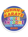 Johnny Karate Sticker - United State of Indiana: Indiana-Made T-Shirts and Gifts