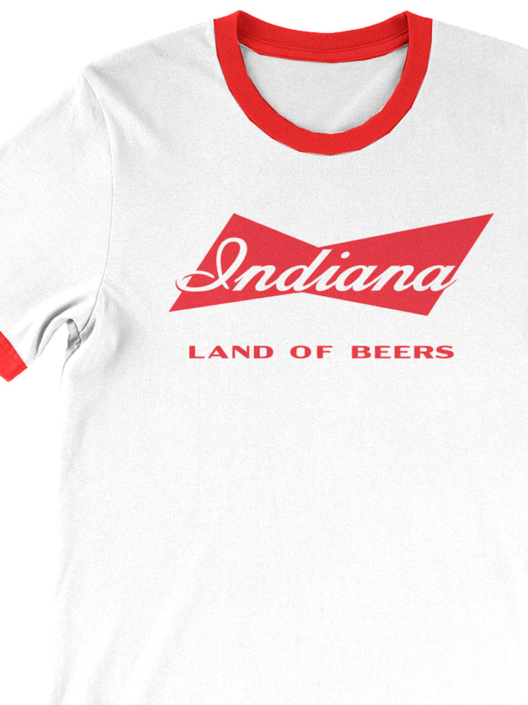 Indiana: Land of Beers Tee - United State of Indiana: Indiana-Made T-Shirts and Gifts