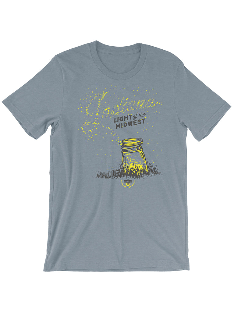 Light of the Midwest Tee - United State of Indiana: Indiana-Made T-Shirts and Gifts